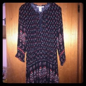 American rag .. boho dress. Worn once.